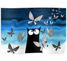 Paper Butterflies  Poster