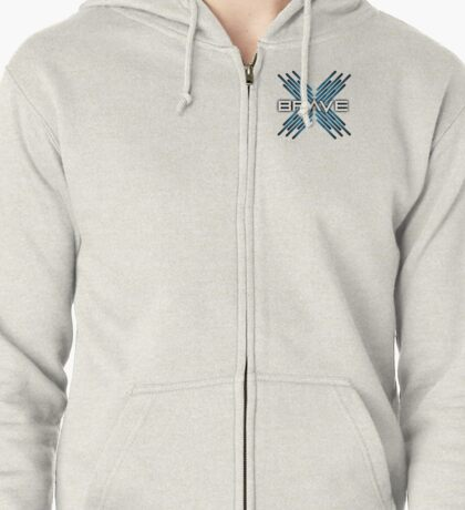 Brave Collective Zipped Hoodie