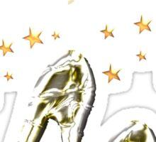 SIZZLING 40TH BIRTHDAY DESIGN Sticker