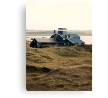 Building at Blakeney Point Canvas Print