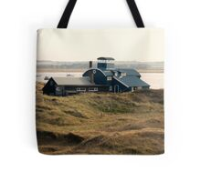 Building at Blakeney Point Tote Bag