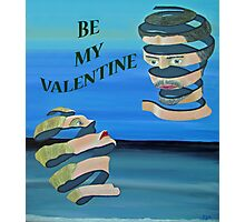 Be My Valentine, Two heads Photographic Print