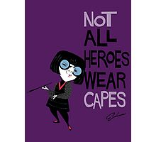 NO CAPES Photographic Print
