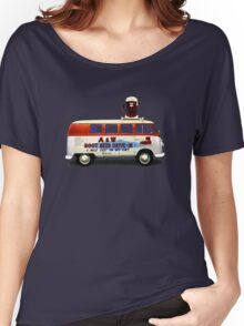 Custom VW Root Beer Camper Women's Relaxed Fit T-Shirt