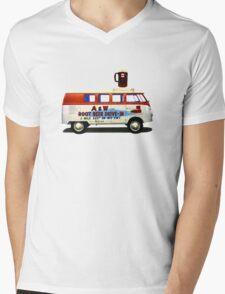 Custom VW Root Beer Camper Mens V-Neck T-Shirt
