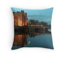 Bunratty Castle At Night, County Clare, Ireland Throw Pillow