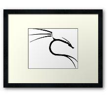 kali linux Framed Print