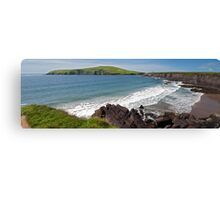 Landscape scenic seascape from Dingle, County Kerry, Ireland Canvas Print