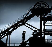 Woodhorn Colliery Headgear by Stephen Morris