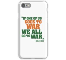Conor McGregor - Quotes [WAR] iPhone Case/Skin