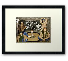 Wheels of Steel The Moment Framed Print