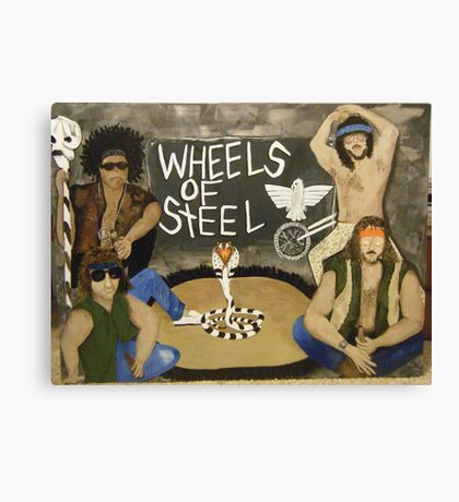 Wheels of Steel The Moment Canvas Print