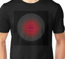 abstract red ball design Unisex T-Shirt