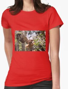 In The Safe Zone Womens Fitted T-Shirt