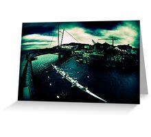 Frank Kitts Park Lagoon - Wellington Greeting Card
