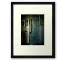 Behind Closed Doors Framed Print