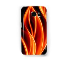 abstract golden flame Samsung Galaxy Case/Skin