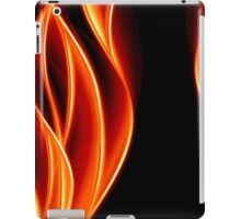 abstract golden flame iPad Case/Skin