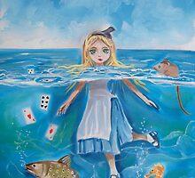 Alice in Wonderland pool of tears by gordonbruce