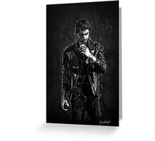 Wet Zayn Greeting Card