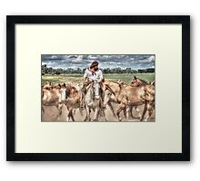 Gaucho Framed Print