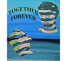 Two Heads, Together Forever Photographic Print