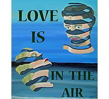 Two Head, LOVE  IS IN THE AIR Photographic Print