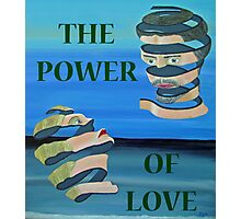 Two Heads,  The Power Of Love Photographic Print