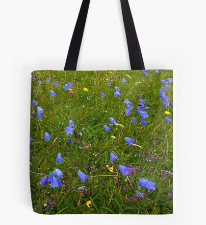 A sea of Harebells, Rossbeg, Co Donegal Tote Bag