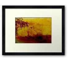 Fire. Framed Print