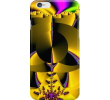 Yellow Fractal (f133)  iPhone Case/Skin