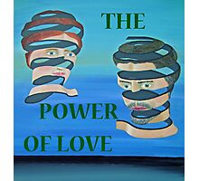 The Couple, THE POWER OF LOVE Photographic Print