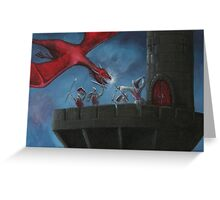 Tower Defence Greeting Card