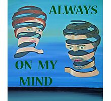 The Couple, Always on my mind Photographic Print