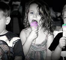Rainbow Ice-creams by chloemay