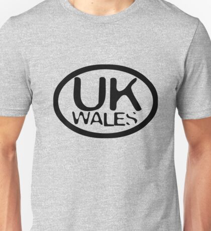 uk wales thsirt by rogers bros Unisex T-Shirt