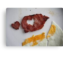 bacon Love Canvas Print