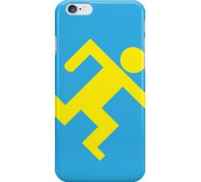 Running man iPhone Case/Skin