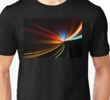 rapid race of night highway Unisex T-Shirt