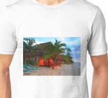 Playa del Carmen at Sunset, MEXICO Unisex T-Shirt