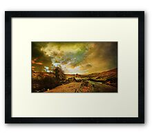 The Dales Framed Print