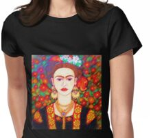 My other Frida Kahlo with butterflies  Womens Fitted T-Shirt