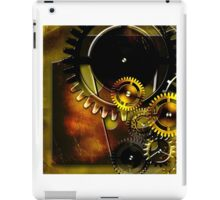 abstract steampunk machine mechanism iPad Case/Skin