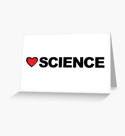 Love Science Greeting Card