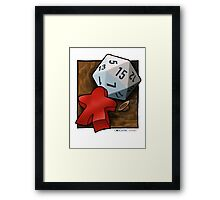 Indy Games Framed Print