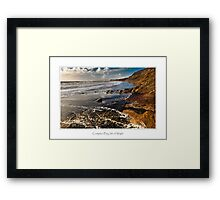 Compton Bay, Isle of Wight Framed Print