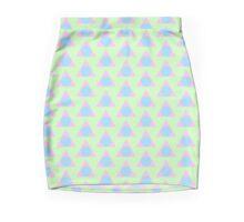Pastel Shapes Mini Skirt