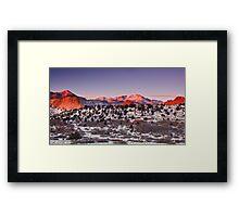 Morning Light Of Winter Framed Print