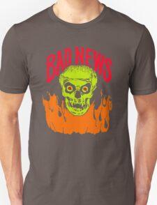 BAD NEWS logo Comic Strip Presents Unisex T-Shirt