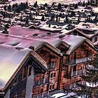 The Lights Bounce Brightly in Verbier (HDR) by Ryan Davison Crisp